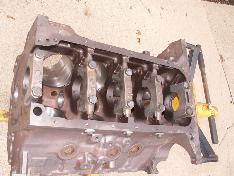 Thecopperguy - 427 Ford Engine Block